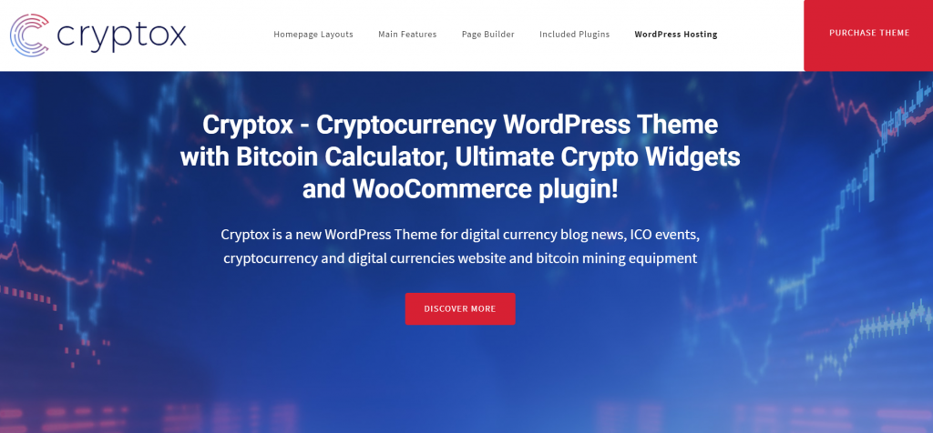 Cryptox theme preview