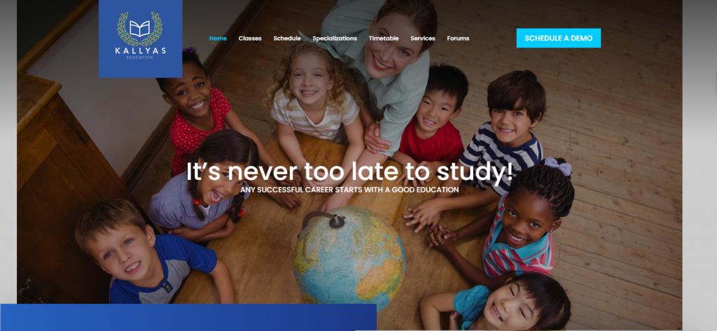 KALLYAS homepage