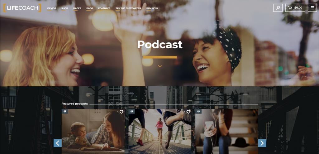 Lifecoach website