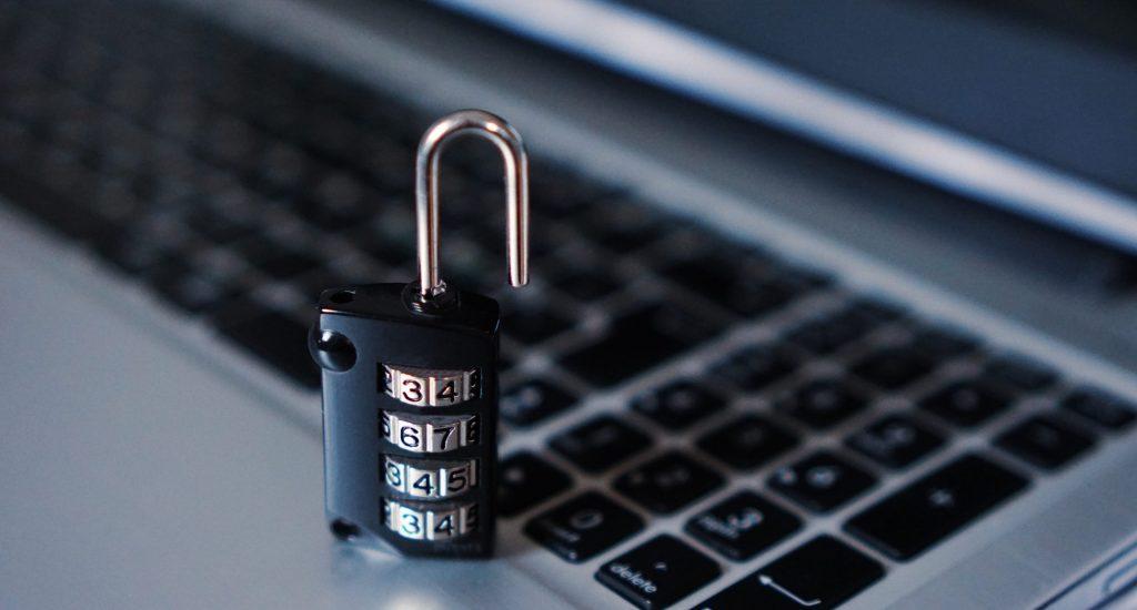 computer, security, padlock